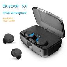 C3 TWS IPX8 Waterproof Bluetooth Earphones 5.0 True Wireless Earbuds Stereo Deep Bass Handsfree In Ear Headset PK i100 i200 2019