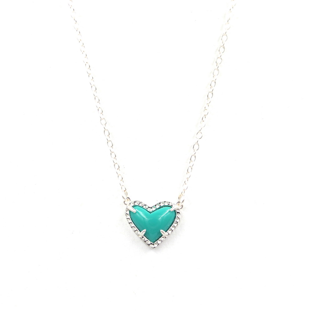 silver turquoise