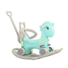 Toys Rocking-Chairs Unicorn Infant-Horse-Stroller Multi-Functional Baby Early 2-In-1