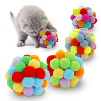 colorful-bouncy-ball-cat-toy-handmade-plush-ball-cat-interactive-toy-mimi-favorite-pet-supplies-cat-toys-interactive