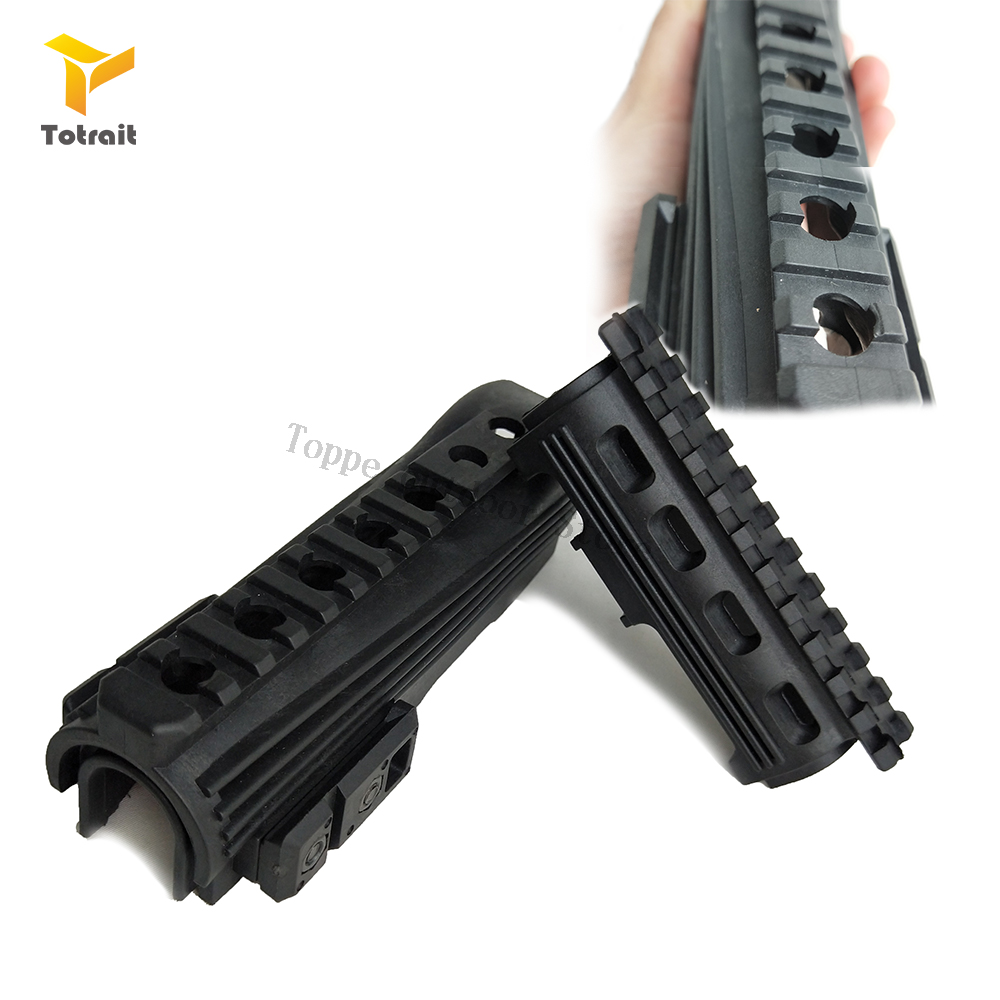 TOtrait Airsoft Shoot AK 47 Strikeforce Polymer Handguards Upper lower Picatinny Rails inserts Gear Hunting Airsoft Accessories(China)