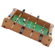 Mini Houten Kids kinderen Tafelvoetbal Machine Tafel Voetbal Speelgoed Outdoor Camping Wandelen Gereedschappen Entertainment Outdoor Game(China)