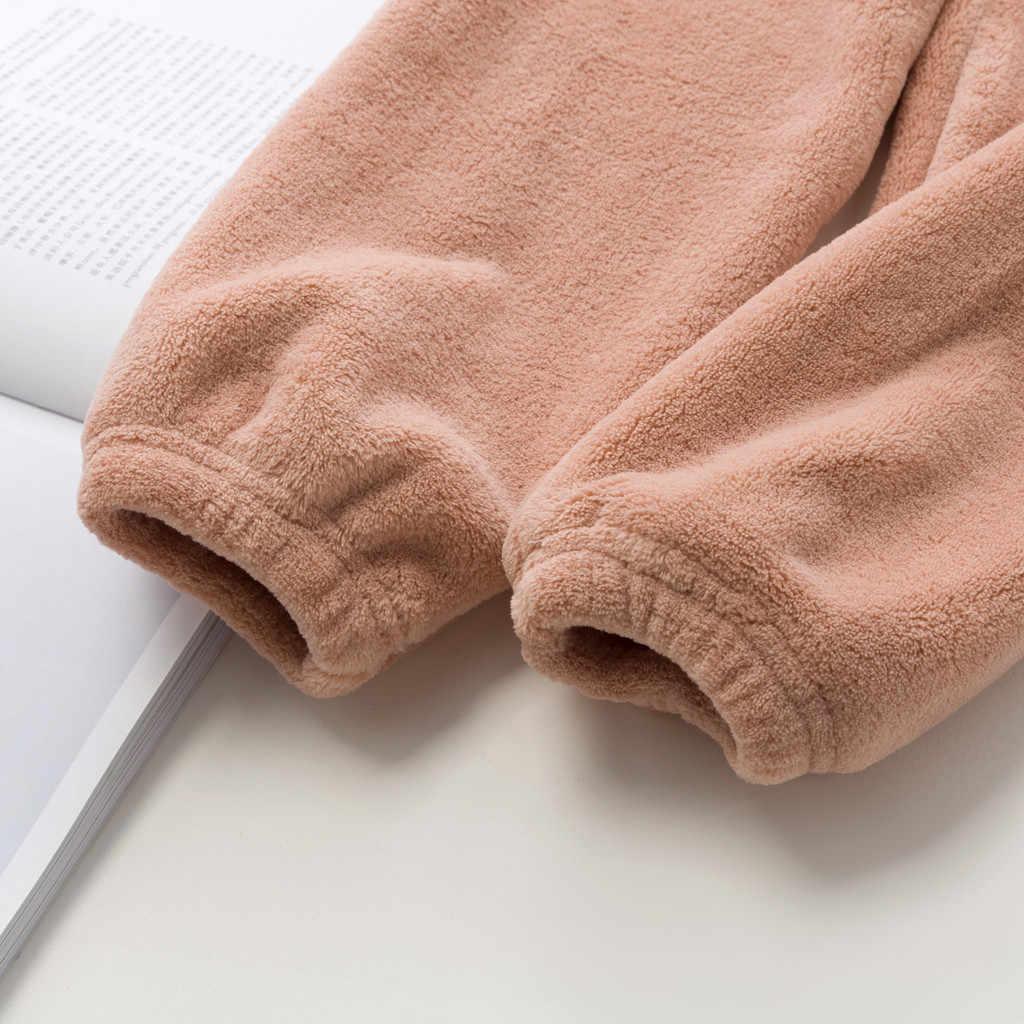 Maluch dzieci chłopcy dziewczęta spodnie leginsy dziewczyna odzież codzienna spodnie dno grube polary zimowa, jesienna ciepłe spodnie luźne spodnie