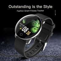 KSUN KSR709 Männer Sport Pedometer Smart Uhr IP68 Wasserdichte Fitness Tracker Heart Rate Monitor Frauen Uhr Smartwatch