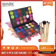 IMAGIC Nieuw palet 48 kleuren Oogschaduw Make up Toning Matte Oogschaduw Flash en Gloeiende Oogschaduw Poeder Pigment Cosmetica