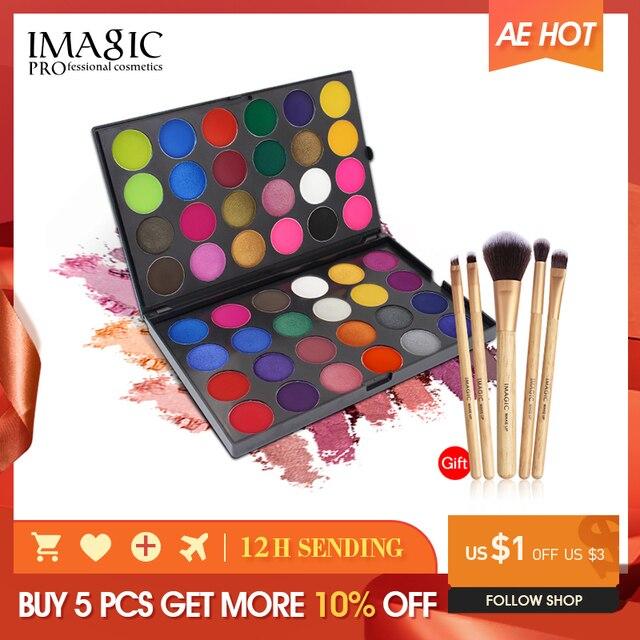 IMAGIC Nieuw palet 48 цветов тонизирующий матовый пигмент для макияжа
