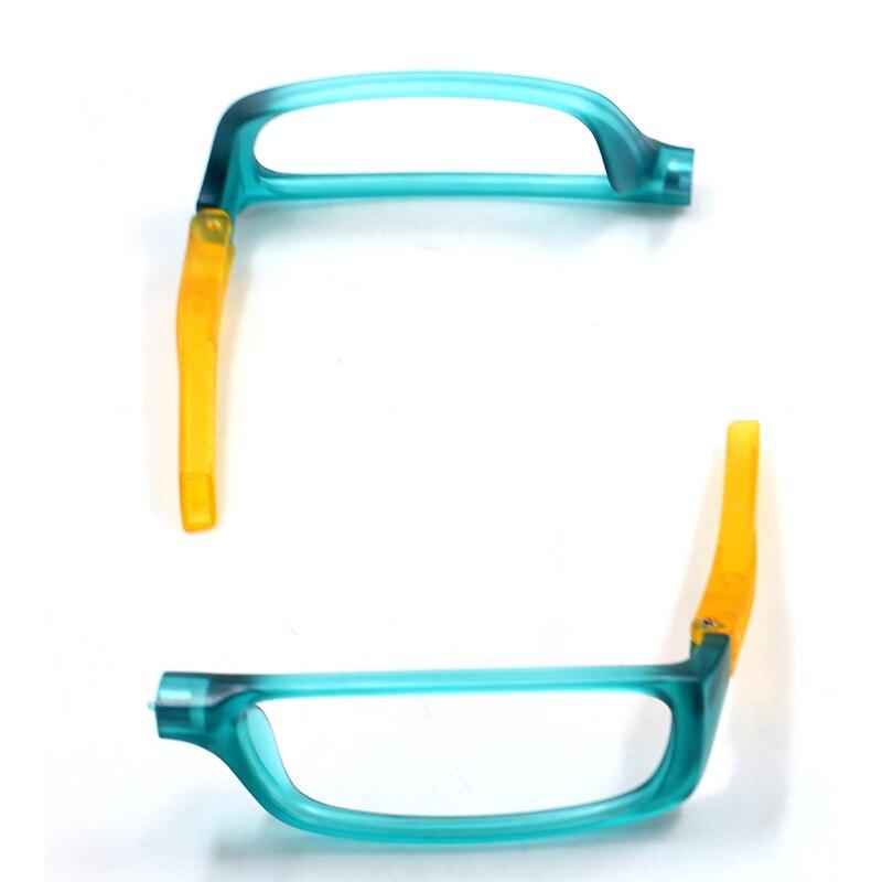 NEW Colorful Upgraded Magnet Reading Glasses Men Women Adjustable Hanging Neck Magnetic Front presbyopic glasses Unisex