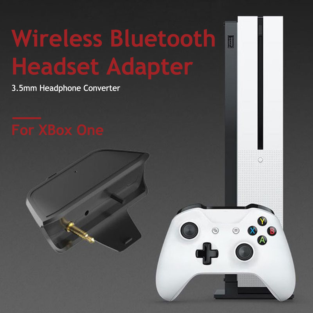 Controller 3.5mm Bluetooth Audio Adapter Delicate Design Durable Converter Adapter For Wireless Headphones For Xbox One