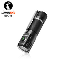Lumintop EDC18 2800Lumens EDC flashlight Side switch Anduril UI 18650 flashlight with magnetic tail and diffuser