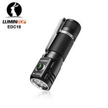 Lumintop linterna EDC18 de 2800 lúmenes con interruptor lateral, linterna Anduril UI 18650, con cola magnética y difusor