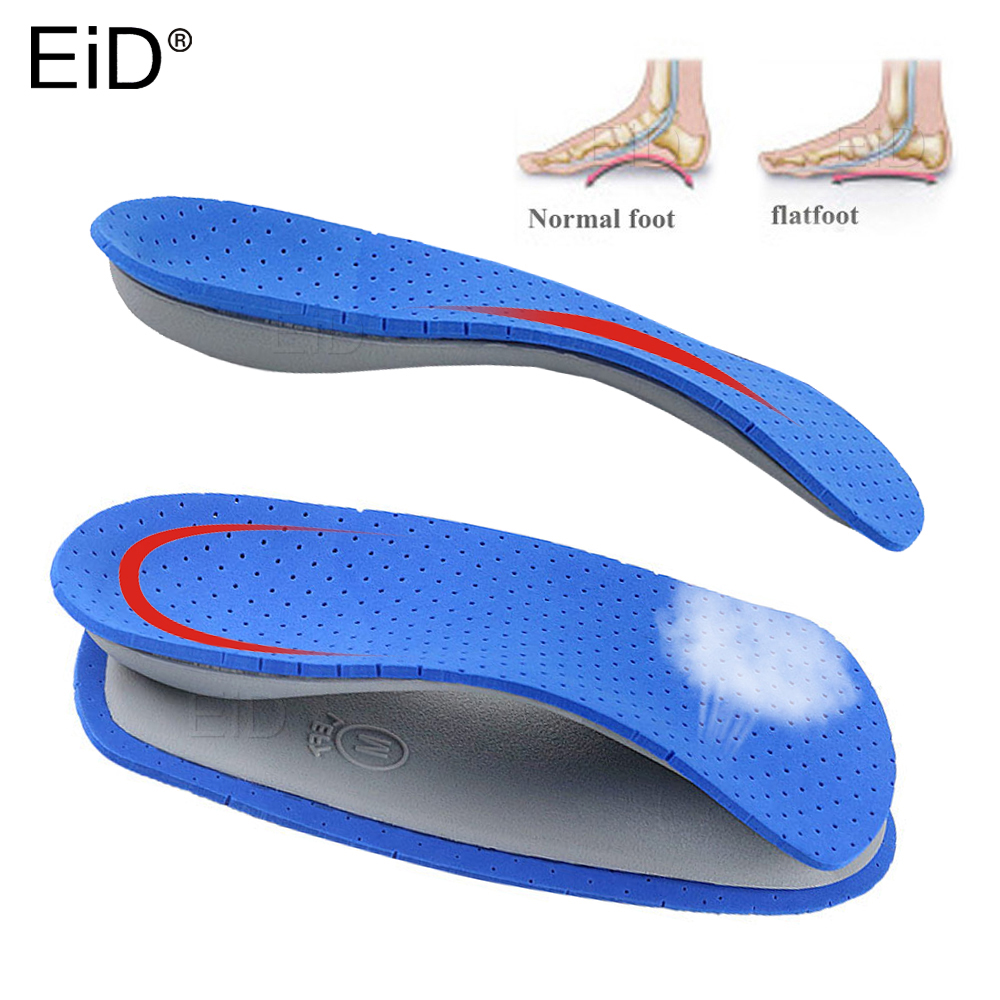 Eva 3/4 Length Orthotic Half Insoles For Flatfoot Heel Arch Support Pads Orthopedic Shoes Insole Foot Health Care Sole Unisex
