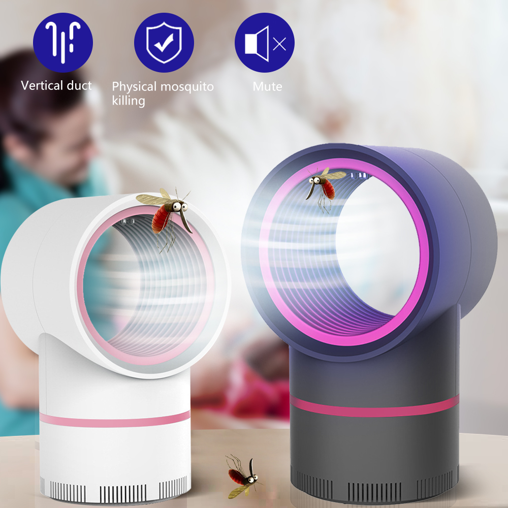 New LED Mosquito Net Lamp UV Night Lamp With USB For Killing Insects Insect Trap Mosquito Trap Electric Photocatalytic Repellent
