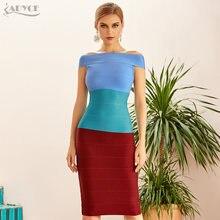 Adyce 2021 новый летний Для женщин Бандажное платье с открытыми