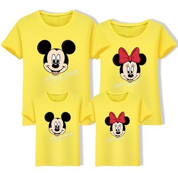 Family Matching Clothes Mommy And Me Daddy Daughter Son Birthday Gift Tshirts Baby Girl Boy Clothes Big Sister Little Sister