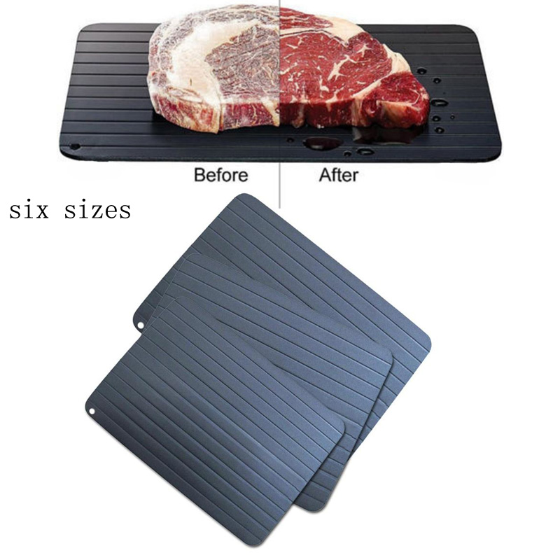 Fast Defrosting Tray Thaw Frozen Food Meat Fruit Quick Defrosting Plate Board Defrost Kitchen Gadget Tool|Defrosting Trays| |  - title=