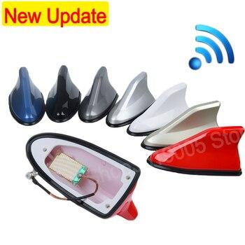 Car Antenna Shark Fm/Am Signal Aerials car Sticker Accessories For BMW e30 e34 e36 e39 e46 e60 e70 e87 e90 e91 e92