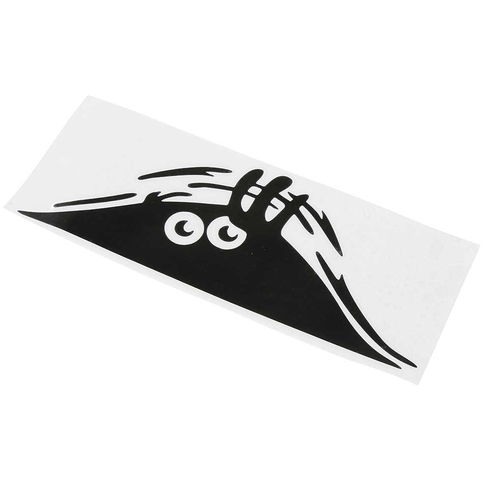 مقاوم للماء ذاتية اللصق ملصق سيارة خدش غطاء مائي السيارات الديكور مضحك Peeking الوحش ثلاثية الأبعاد عيون كبيرة ملصق سيارة التصميم