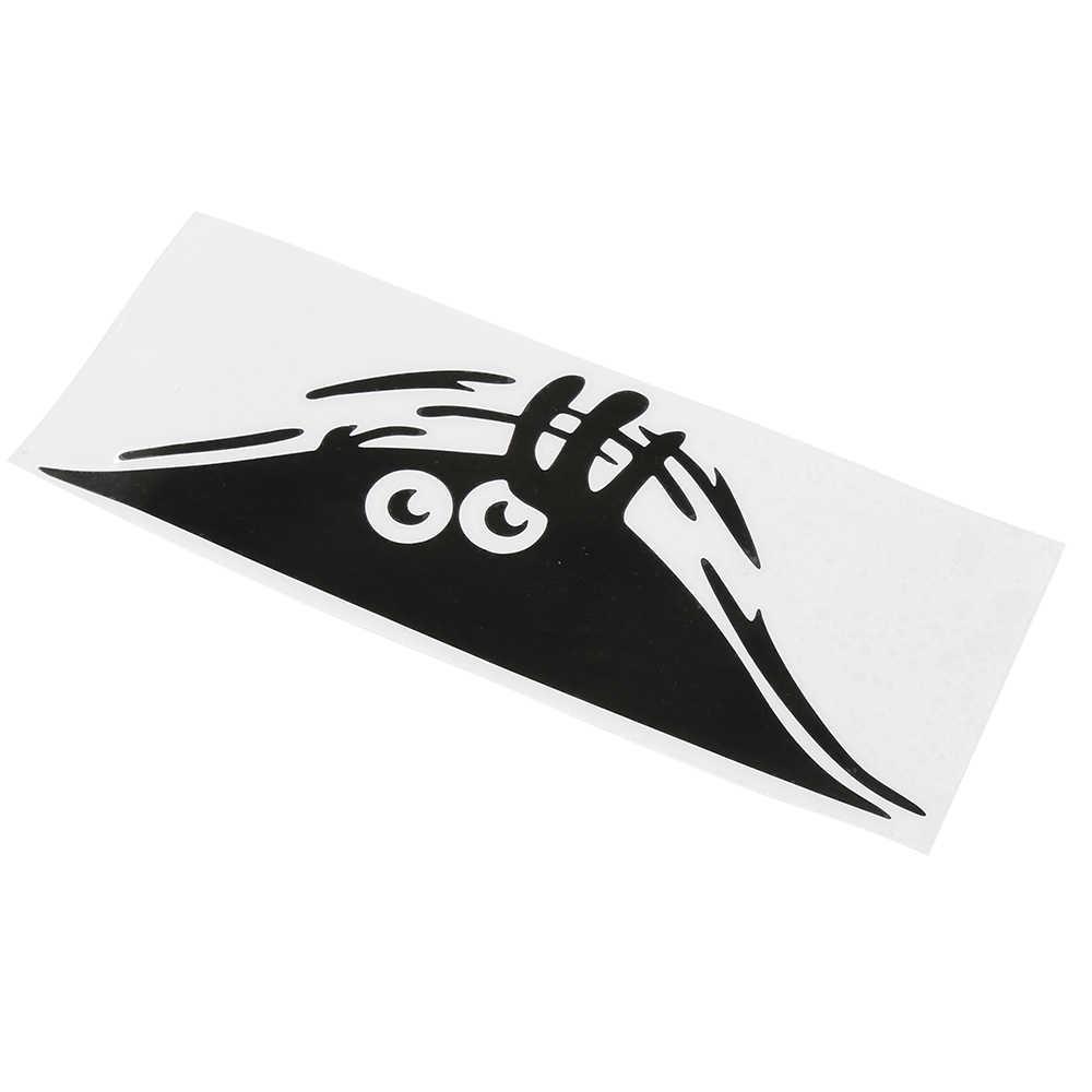 Imperméable à l'eau Auto-adhésif voiture autocollant gratter couverture décalque Auto décoration drôle Peeking monstre 3D grands yeux autocollant voiture style