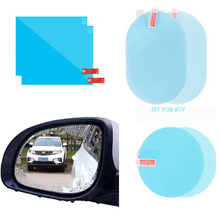 Car Rearview Mirror Protective Film Anti Fog Window Clear Rainproof Rear View Mirror Protective Soft Film Auto Accessories