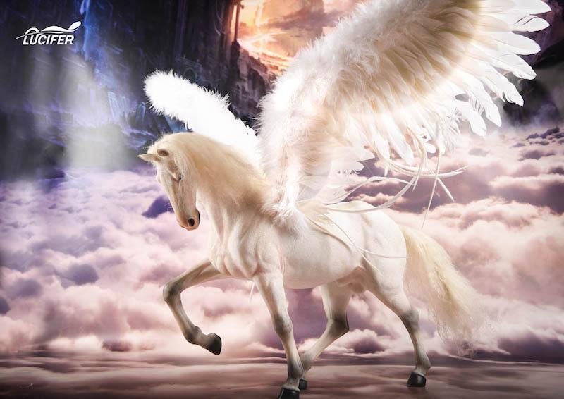 Mnotht предпродажа 1/6 весы Люцифер белый боевой конь Броня подвижные крылья для 12in фигурки аксессуары игрушки