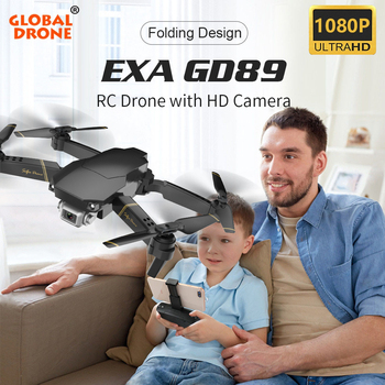 Global Drone EXA plegable RC Drones con cámara HD Quadcopter Mini de...