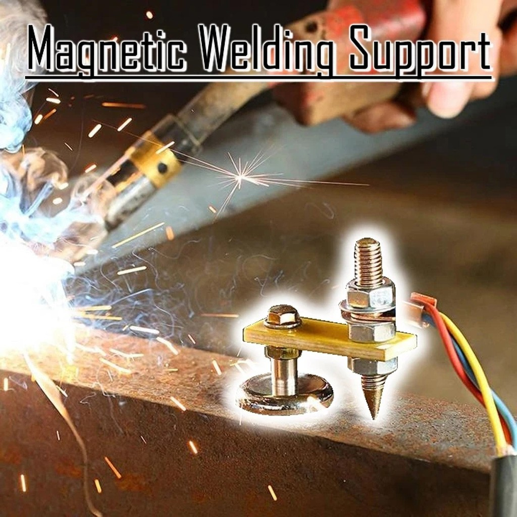 Magnetic Welding Ground Clamp Rare Earth Switchable Magnet Welding Holder 200A Magnetic Welding Ground Clamp Holder Small Size