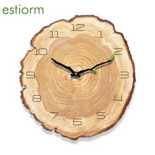 12 inch Wooden Vintage Wall Clock Silent Non Ticking Battery Operated Wall Clock Office Home Wall Decor For Living Room Bedroom original xiaomi mijia mute movement round wooden wall clock non ticking simple style home kitchen office decoracion wall clock