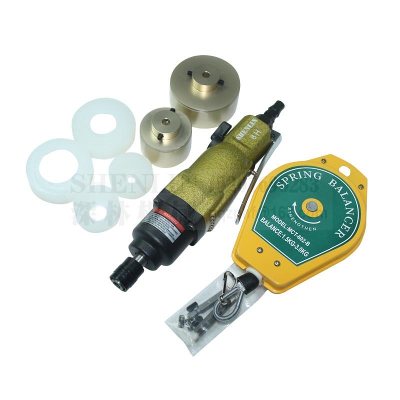 Kupakológép 80 kg-os nyomatékkal pneumatikus palackvédő - Elektromos kéziszerszámok - Fénykép 4