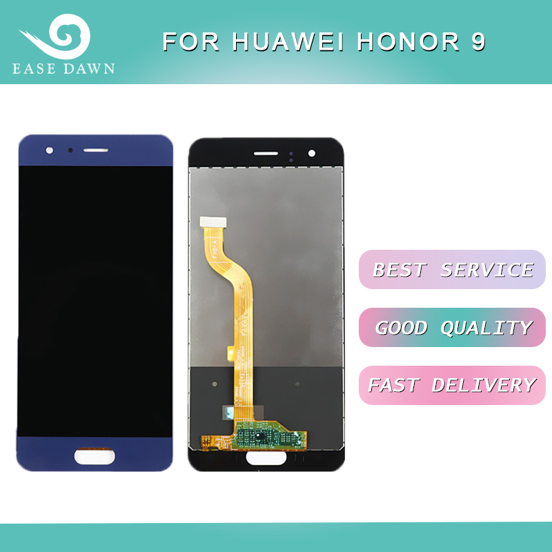 Für <font><b>Huawei</b></font> <font><b>Honor</b></font> <font><b>9</b></font> <font><b>LCD</b></font> IPS <font><b>Display</b></font> <font><b>LCD</b></font> Screen + Touch Panel Digitizer Montage Für <font><b>Huawei</b></font> <font><b>Display</b></font> Original image