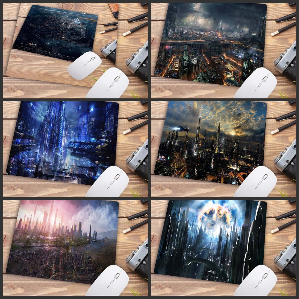 Mairuige  Cityscape Mouse Pad Game Player Gaming Mouse Pad Cheapest Game Pad Mouse Player Keyboard Pad Big Promotion