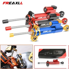 For HONDA CBR600 F2 F3 F4 F4i SPORT/F CBR 600 CNC Motorcycle Steering Damper Stabilizer Linear Reversed Safety Control Over Moto