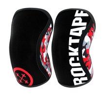 Rodilleras (1 par), rodilleras de compresión de 7mm de grosor soporte para levantamiento de pesas