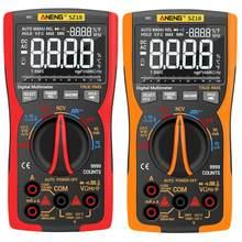 Aneng 9999 profissional sz18 multímetro digital verdadeiro rms analógico tester multimetro diy transistor capacitor ncv testadores lcr met
