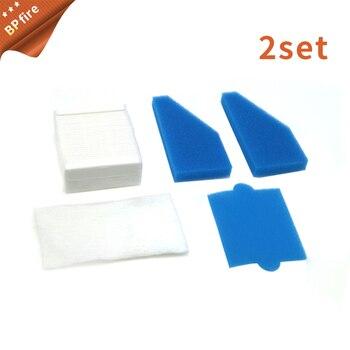2set Filter set vacuum cleaners suitable for Thomas Aqua + Multi Clean X8 Parquet, Aqua + Pet & Family, Perfect Air Animal Pure