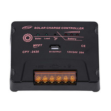 BOGUANG Regolatore di Carica Solare MPPT 12 V/24 V 10A 20A Solare del Pannello di Batteria Regolatore Commerci Allingrosso