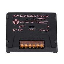 BOGUANG Solar Charge Controller MPPT 12V/24V 10A 20A Solar Panel Battery Regulator Wholesales