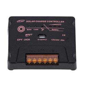 Image 1 - BOGUANG Solar Charge Controller MPPT 12V/24V 10A 20A Solar Panel Battery Regulator Wholesales