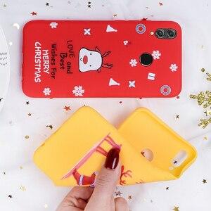Image 5 - Telefon Fall Für Huawei P20 Lite P30 Lite auf die für Huawei Honor 10 20 Lite 9X 8X Weihnachten Santa silicon TPU Cartoon Girly Abdeckung