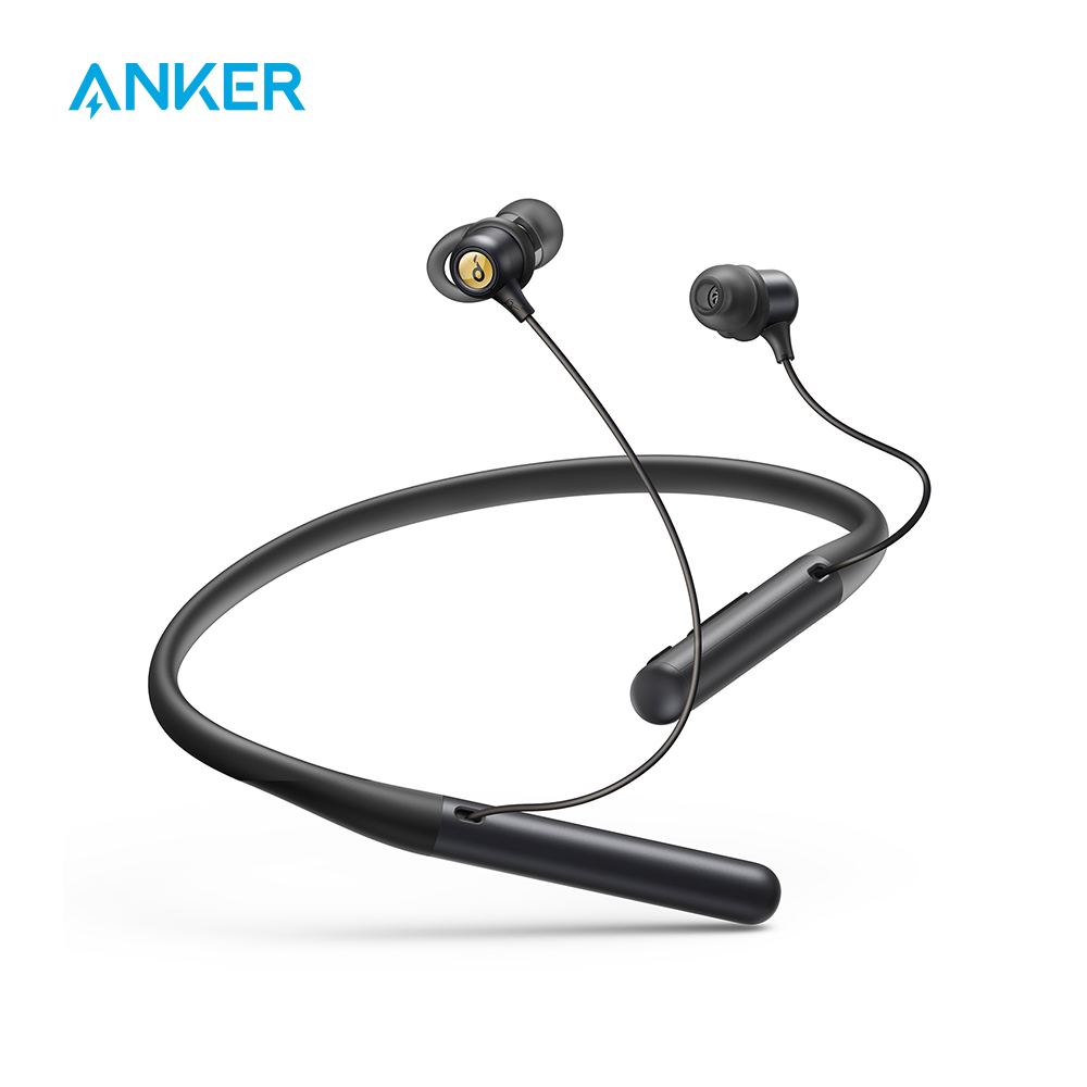 Anker Soundcore Life U2 Bluetooth Neckband Headphones with 24 H Playtime 10 mm Drivers Crystal-Clear Calls with CVC 8 0 Noise