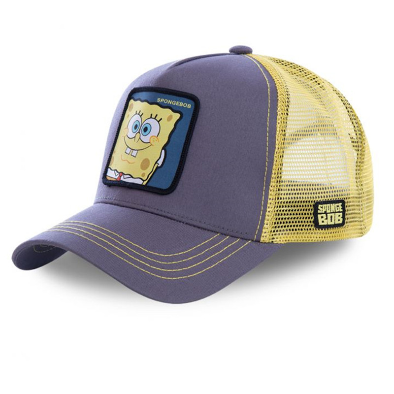 Dad Hat Mesh-Hat Baseball-Cap Snapback Spongebob Trucker Women Hip-Hop Cotton PATRICK