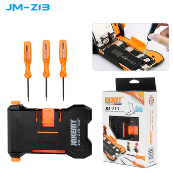 Jakemy JM-Z13 Adjustable Fixed Screen Repair Holder for iPhone   Teardown Work Fixture & PCB Holder Clamp car folding key pcb repair fixture pcb holder work station platform fixed support clamp steel pcb board soldering repair holder