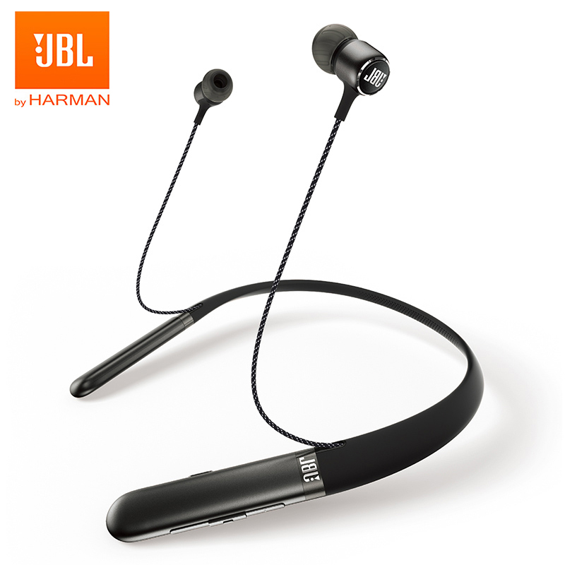 JBL Live 200BT Wireless Bluetooth Earphone Neckband Magnetic Headphones Sports Bass Earbuds Handsfree Calls with Microphone