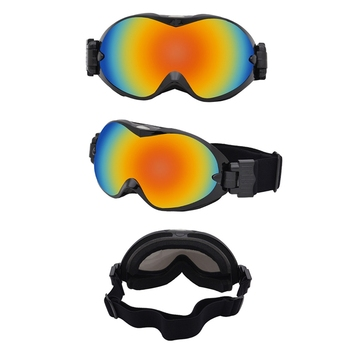 Gogle narciarskie dwuwarstwowe sferyczne wiatroszczelne przeciwmgielne Outdoor wspinaczka sportowe okulary ochronne okulary akcesoria sportowe tanie i dobre opinie Balight Skiing 18 0x3 0x9 0cm Black Red Black Silver Flag Rainbow White Yellow Adult Teenager Sports Skiing Climbing
