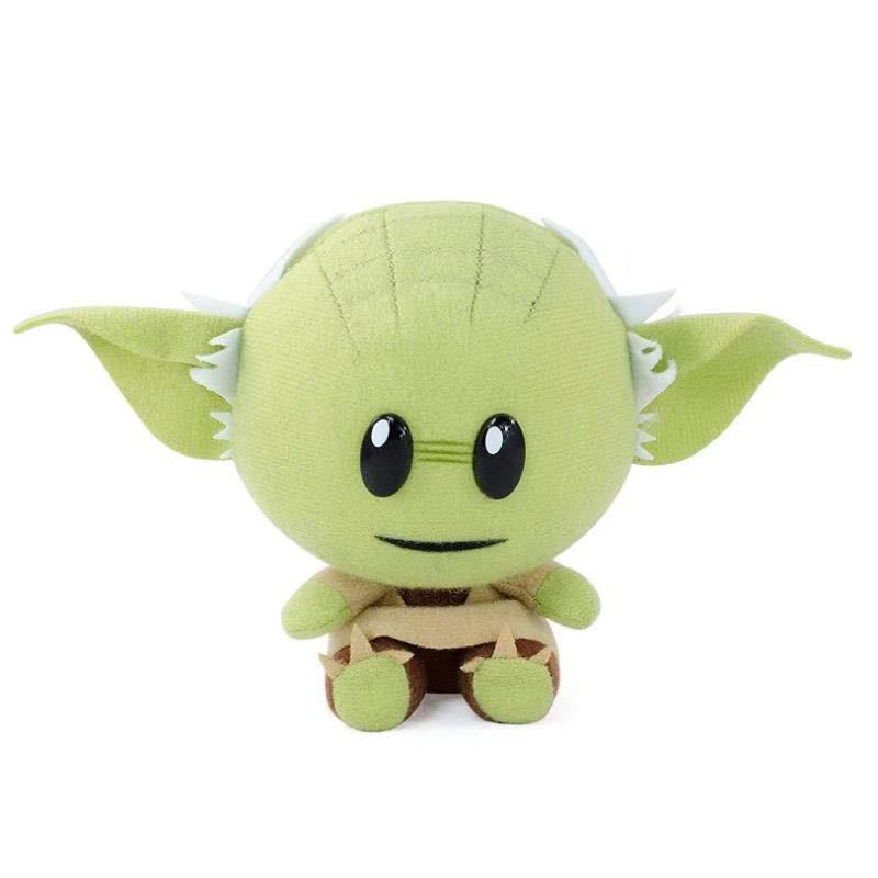 1pcs 18cm Baby Yoda Plush Toys Doll Yoda Plush Toy Doll Soft Stuffed Toys For Children Kids Gifts