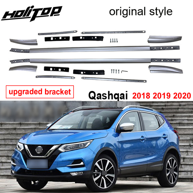 New arrival roof rail roof rack bar for Nissan QASHQAI 2018 2019 2020, guarantee quality,supplied by ISO9001:2008 big factory