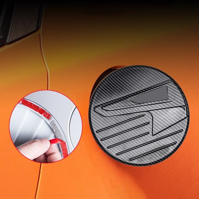 Купить abs автомобильный стайлинг авто крышка топливного бака наклейка картинки цена