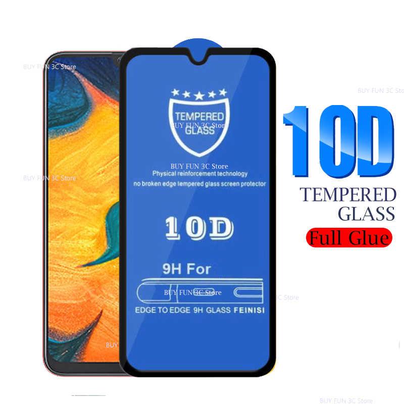 10D полное Клей Стекло для samsung Galaxy A70 A10 A20 A30 A40 A50 защитное стекло на samsung A50 A40 A30 A20 A10 закаленная пленка