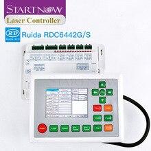 وحدة تحكم ليزر CO2 Ruida 6442G RDC6442G نظام اللوحة الأم باستخدام الحاسب الآلي بطاقة التحكم بالليزر للوحة ماكينة الحفر بالليزر RDC 6442S