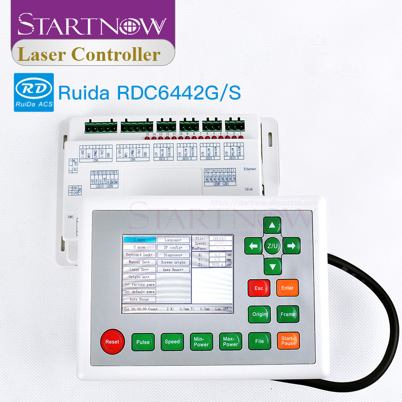 Laser Controller CO2 Ruida 6442G RDC6442G CNC Motherboard System Laser Control Card For Laser Engraving Machine RDC 6442S Panel
