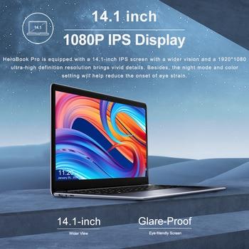 CHUWI HeroBook Pro 14.1Inch Laptop Intel Gemini lake N4020 Dual core 8GB RAM 256GB SSD Windows 10 computer Full Layout Keyboard 4